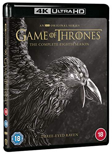 Game of Thrones: Season 8 [4K Ultra HD] [2019] [Blu-ray] [Region Free]