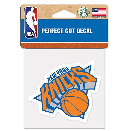 NBA New York Knicks Perfect Cut Color Decal, 4 pulgadas x 4 pulgadas