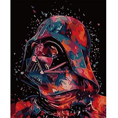 OKOUNOKO Puzzles 1000 Piezas Adultos, Darth Vader, Personalizado De Madera Montaje Rompecabezas Divertido, 75X50Cm