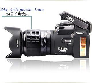 YAMEIJIA 33 Millones de píxeles 24x teleobjetivo Doble estabilización de Imagen Completa de Enfoque automático de la cámara de vídeo Digital D7200 HD LED de Alto Brillo de Tres Lentes Intercambiables