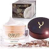 Crema Nocturna para Limpieza Facial Hidratante Anti Envejecimiento Vegana – Nutrición Profunda en la Piel Para Brillo y Belleza Natural