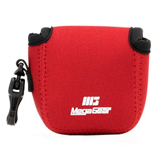 MegaGear MG1313 GoPro Hero 7, Hero 6, Hero 5, Sony DSC-RX0 Ultraleichte Kameratasche aus Neopren - Rot