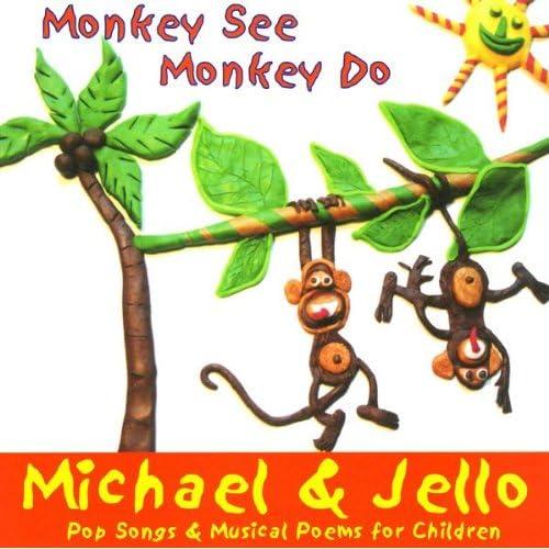 5 Little Monkeys Swinging In A Tree By Michael Jello On