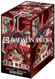 Pokemon Korea Yugioh Cards Raging Tempest Booster Box (40Pack) / Korean Ver