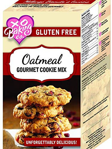XO Baking Oatmeal Cookie Mix - Flavorful Gluten Free Oatmeal Cookie Mix - No Preservatives or Artificial Flavors (15.5 Ounce (Pack of 1))
