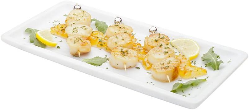 Italian Marble 現金特価 Serving Plate 配送員設置送料無料 Platter White Ma -