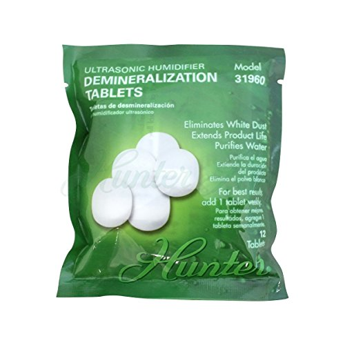 Hunter 31960 Demineralization Tablet for 31004 Humidifier , White