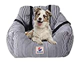 BLOBLO Dog Car Seat Pet Booster Seat Pet Travel Safety Car Seat Dog Bed for Car with...