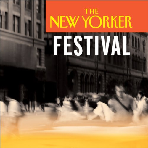 The New Yorker Festival - Edie Falco Talks with Jeffrey Toobin audiobook cover art