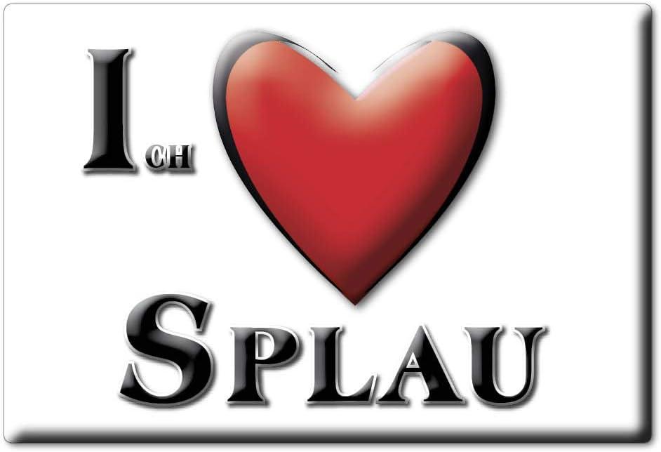 Enjoymagnets SPLAU (ST) imán Alemania recuerdo I Love idea regalo