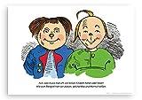 Poster Max und Moritz in DIN A3 aus Recyclingpapier vom