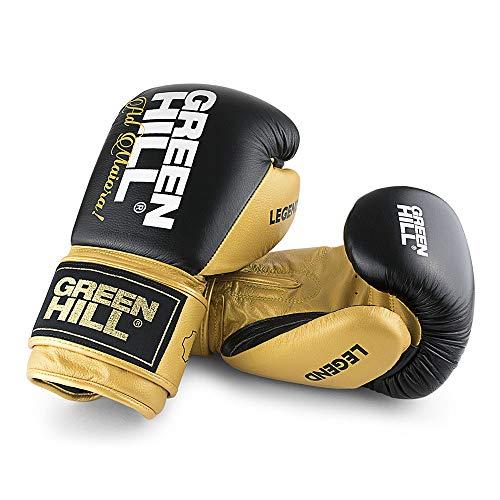 Green Hill Legend Boxhandschuhe Boxhandschuhe Boxhandschuhe Unisex Erwachsene, Unisex - Erwachsene, BGL-2246, Gold, 12 oz