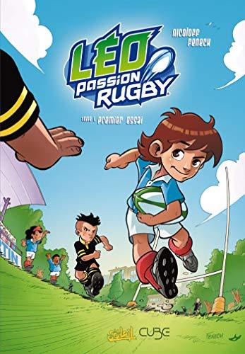 Léo passion rugby t01 - premier essai (Cube)