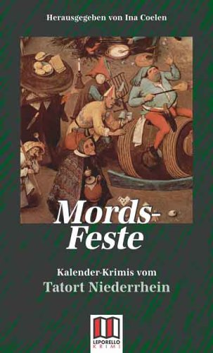 Image of Mords-Feste: Kalender-Krimis vom Niederrhein