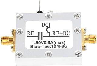 Coaxial Bias, Broadband Bias Tee, Isolating Capacitance 10MHz-6GHz Bias Tee for Broadband Amplifier Optical Fiber Communic...