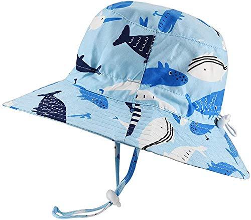 DRESHOW Baby Sun Hat Summer Beac...
