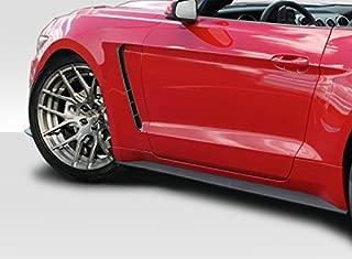 Brightt Duraflex ED-HBT-587 GT350 Look Fenders - 2 Piece Body Kit - Compatible With Mustang 2015-2017