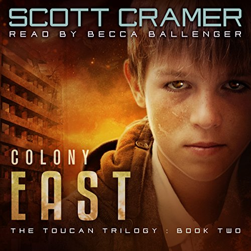 Colony East audiobook cover art