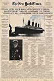 Titanic - Newspaper Zeitung New York Times Film Poster