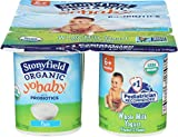 Stonyfield Farm, Yogurt Yobaby Plain Organic, 4 Ounce, 6 Pack