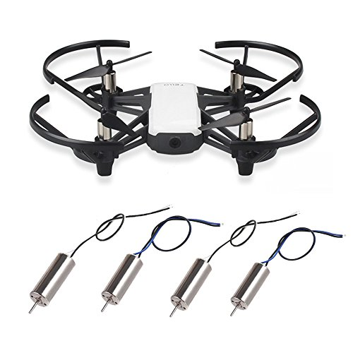 RCGEEK Drone 8520 Motors Coreless CW CCW Motor Compatible with DJI Ryze Tello 720P Camera WiFi FPV RC Quadcopter, 2 Pairs