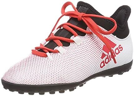 Adidas X Tango 17.3 TF J, Botas de fútbol, Gris (Gris/Correa/Negbas 000), 30 EU