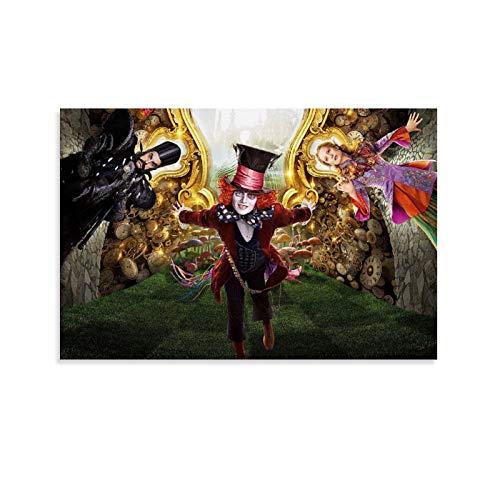 DRAGON VINES Póster de Alicia en el país de las maravillas para decoración de pared de 30 x 45 cm, póster de euforia para chicos dormitorio de menos de 15 dólares