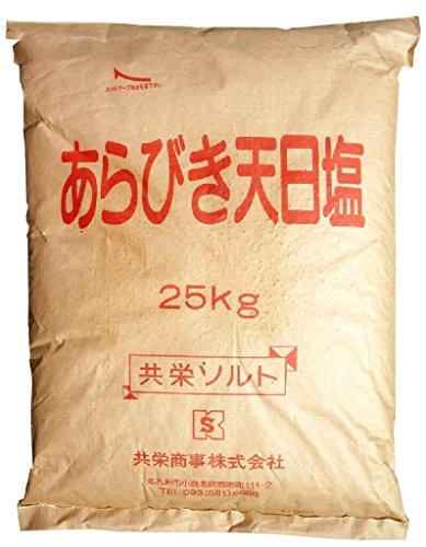 共栄商事 あらびき天日塩(25kg)