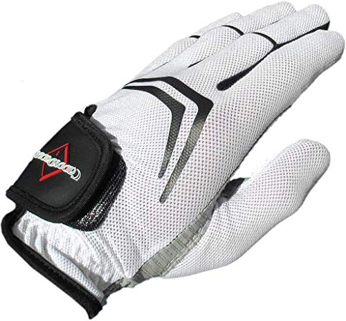 CaddyDaddy Golf Glove, Longer Lasting, Breathable with Superior Grip (4, Large (LH))