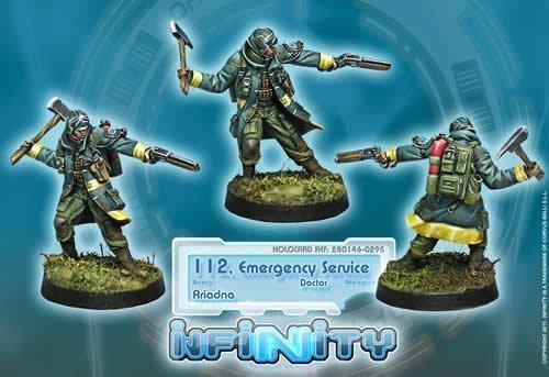 Infinity: Ariadna - 112, Emergency Service (Doctor) by Corvus Belli