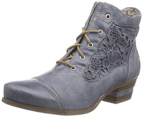Mustang Damen 1187-501-875 Combat Boots, Blau (875 sky), 38 EU