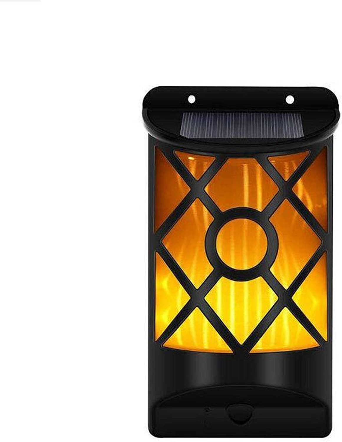Solar Flame Lights,Garden Wall Lamp,Lawn Lights,Waterproof Landscape Lights,66 LED Flickering Path Dancing Lights,Outdoor Security Path Light,Dusk to Dawn Auto On Off for Patio Deck Yard
