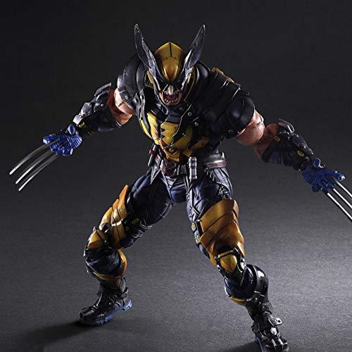 VENDISART Wolverine PVC Action Figure Collectible Model Toy 26cm