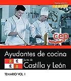 AYUDANTES DE COCINA JUNTA DE CASTILLA Y LEON TEMARIO VOL 1