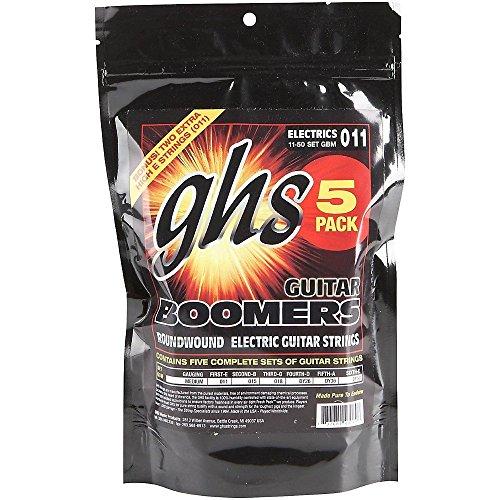 GHS GBM-5 11-50 Medium Boomers Gitarrensaitensatz (6er Pack)
