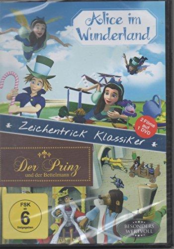 Zeichentrick Klassiker Alice im Wunderland Der Prinz und der Bettelmann