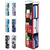3 Shelf Hanging Locker Organizer for School, Gym, Work, Storage - Upgraded  ...