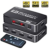 Best HDMI Switches - 4K HDR HDMI Switch, Koopman 5 Ports 4K Review