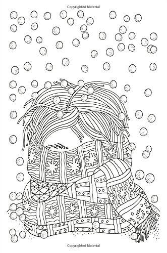 Color My Cover Christmas Journal - Winter Scarf: 100 page 6