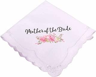Lillian Rose AZ270002 MB Pink Mother of The Bride Hankie, 12