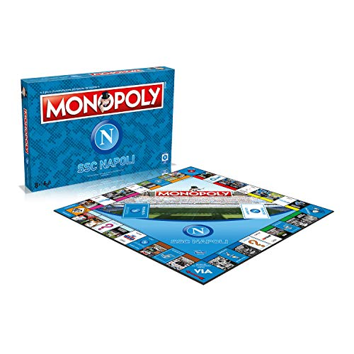 Winning Moves UK Limited- Monopoly SSC Napoli