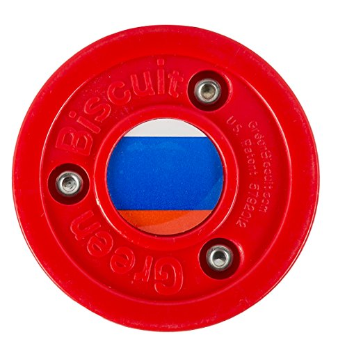 Green Biscuit Olympic Russia Puck