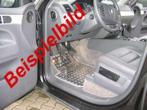 OPPL aluminium vloermatten voorzijde geschikt voor Dodge Ram 1500 4x4/4 vanaf 2009 CrewCab