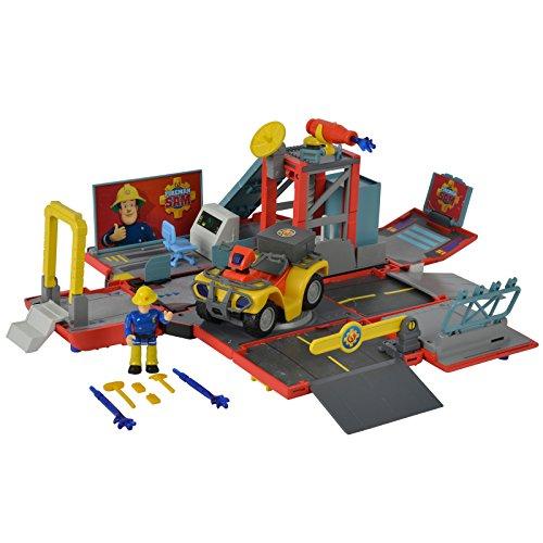 #0618 Jupiter mit Sound inklusive Figur und Mercury Feuerwehrmann Sam • Feuerwehrauto Spielzeug Auto Rettungswagen