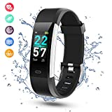 YISSVIC Smart Band Fitness Tracker Waterproof IP68 with LCD Color Screen Activity Tracker