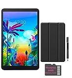 LG G Pad 5 10.1-inch (1920x1200) 4GB LTE Unlock Tablet, Qualcomm MSM8996 Snapdragon Processor, 4GB RAM, 32GB Storage, Bluetooth, Fingerprint Sensor, Android 9.0 w/Mazepoly Accessories