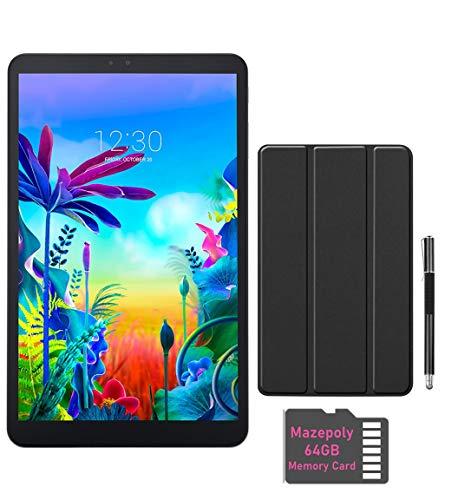 LG G Pad 5 10.1-inch (1920x1200) 4GB LTE Unlock Tablet, Qualcomm MSM8996 Snapdragon Processor, 4GB RAM, 32GB Storage, Bluetooth, Fingerprint Sensor, Android 9.0 w Mazepoly Accessories