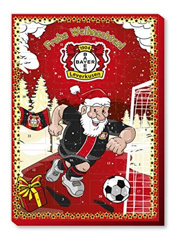 Bayer Leverkusen Adventskalender, Weihnachtskalender mit Sticker Wir Leben Fußball