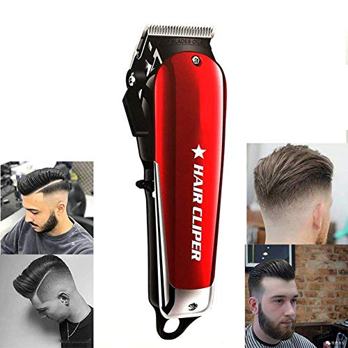 Haarschneider für Männer Professionelle Akku-Haarschneider Rasierer Bartschneider Pflege Rasierapparat Fauay