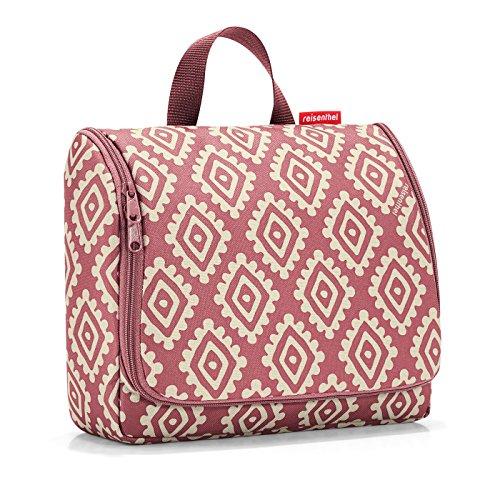 reisenthel toiletbag XL diamonds rouge Maße: 28 x 25 x 10 cm / Maße: 28 x 59 x 9 cm expanded / Volumen: 4 l